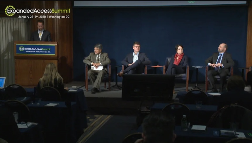 Expanded Access Summit: Pre-Market Access panel