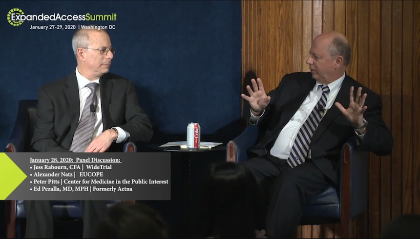 Peter Pitts at the 2020 Expanded Access Summit