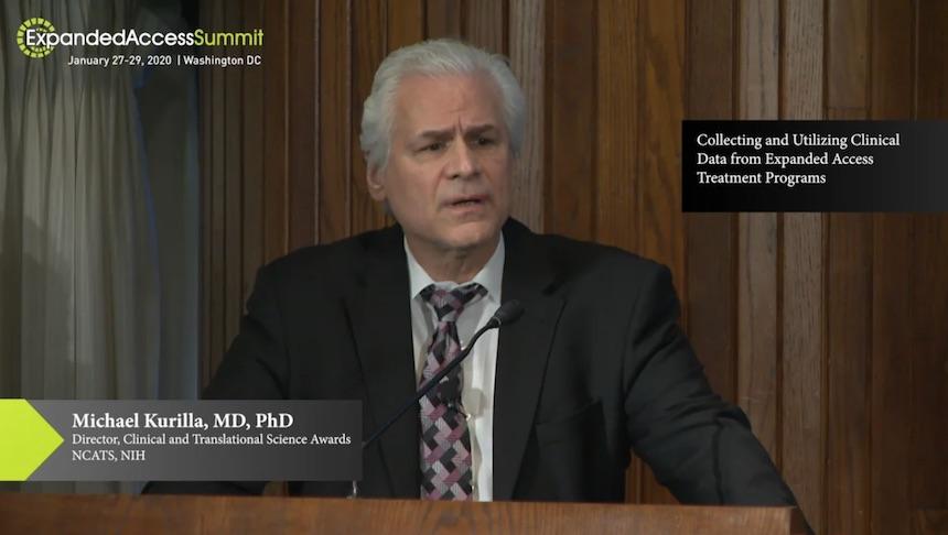 Michael Kurilla, MD, PhD at the 2020 Expanded Access Summit